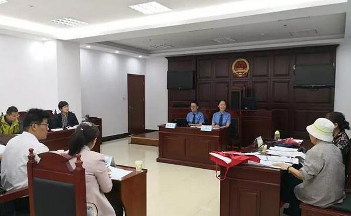 连云港检察组织人民监督员参加民事监督案件公开听证会